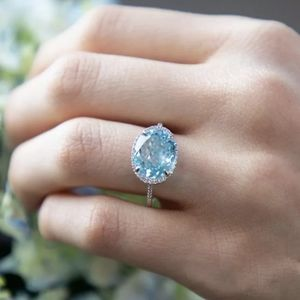 Jewelry - New nice  sterling silver stamped Aquamarine ring